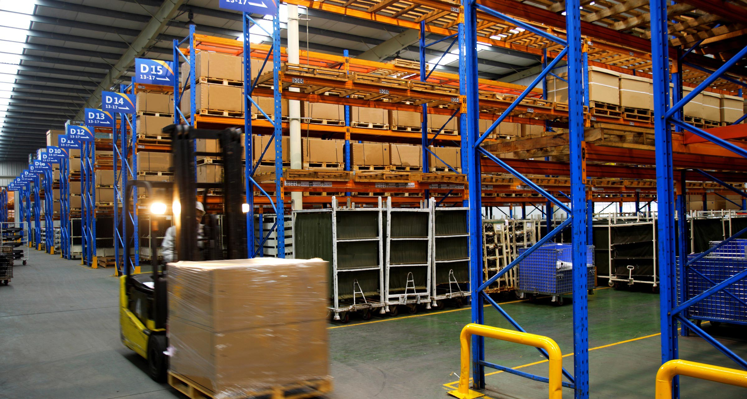 Logistics and Shipping of Automotive Seating